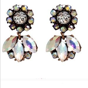 Jewelry - NEW Crystal Holographic Earrings